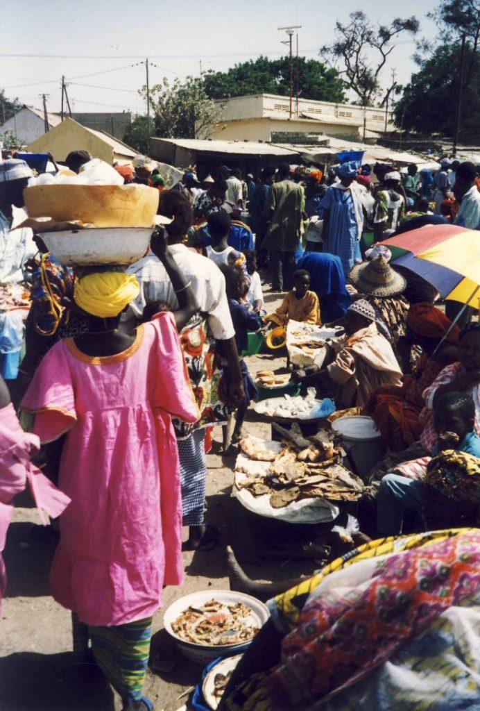 Gambia Piata centrala din Banjul
