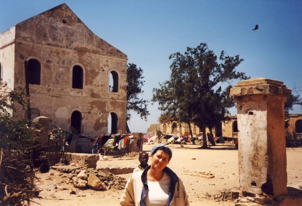 Goree Island - abandoned colonial houses