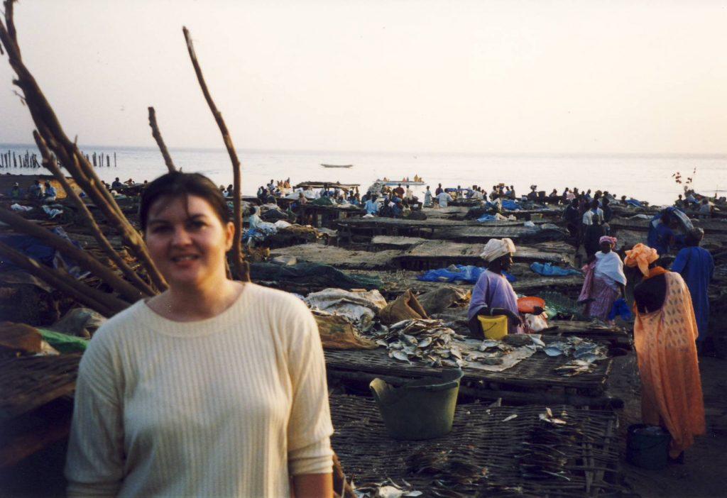 Senegal Dakar-fish market