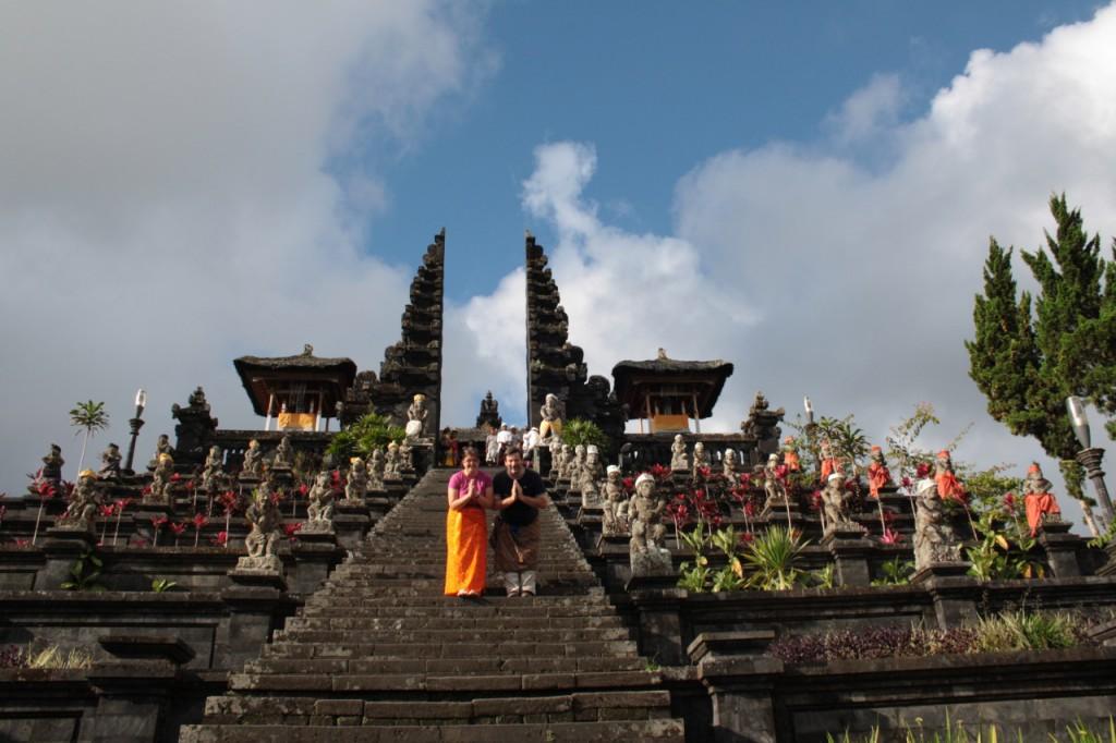 Pura Besakih - The Balinese Hand Temple