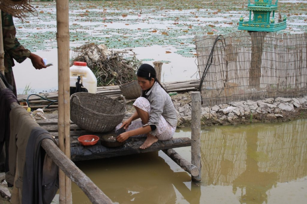 Bucataria locala in Cambogia