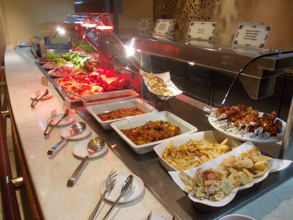 gran hotel atlantis bahia real buffet