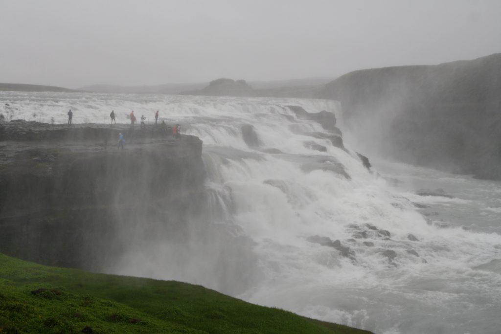 Islanda cascada Gullfoss
