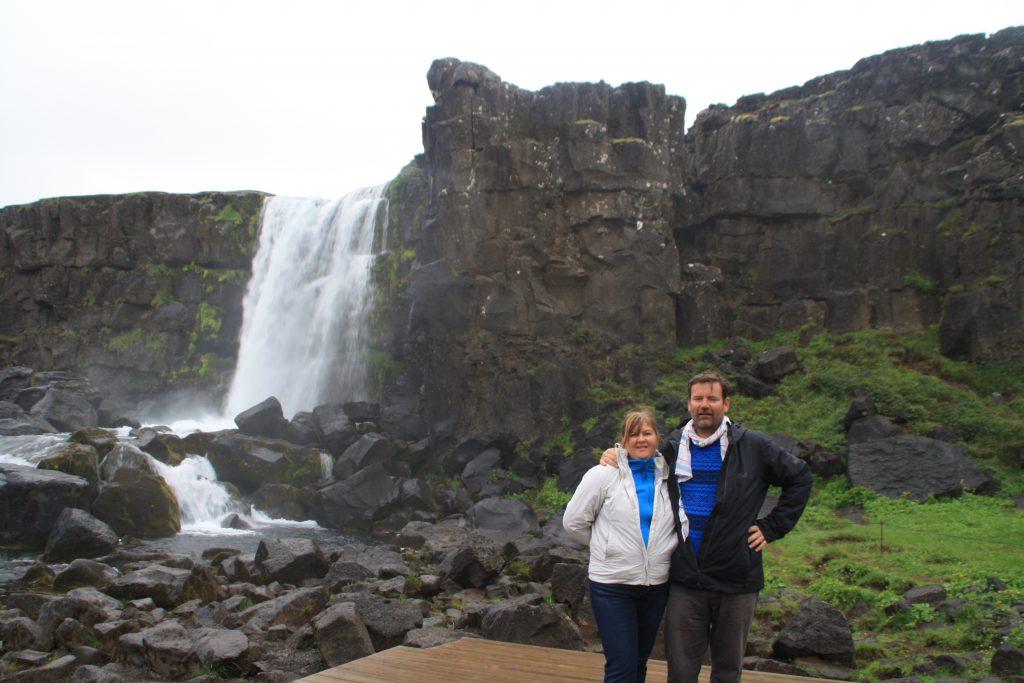 Islanda cascada Öxarárfoss