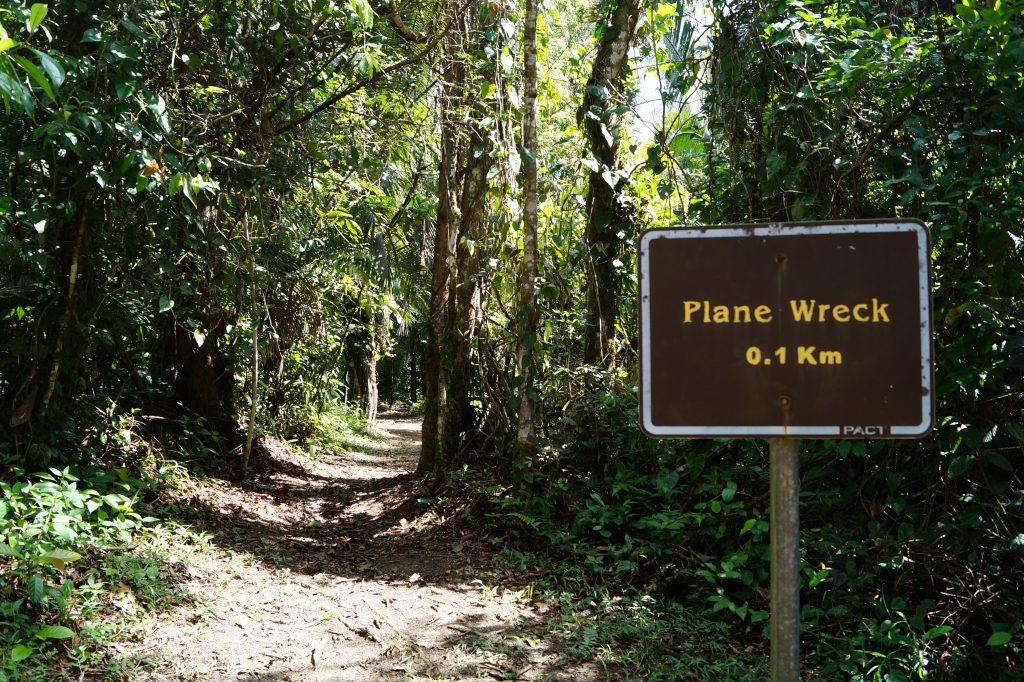 Belize plane wrecxk