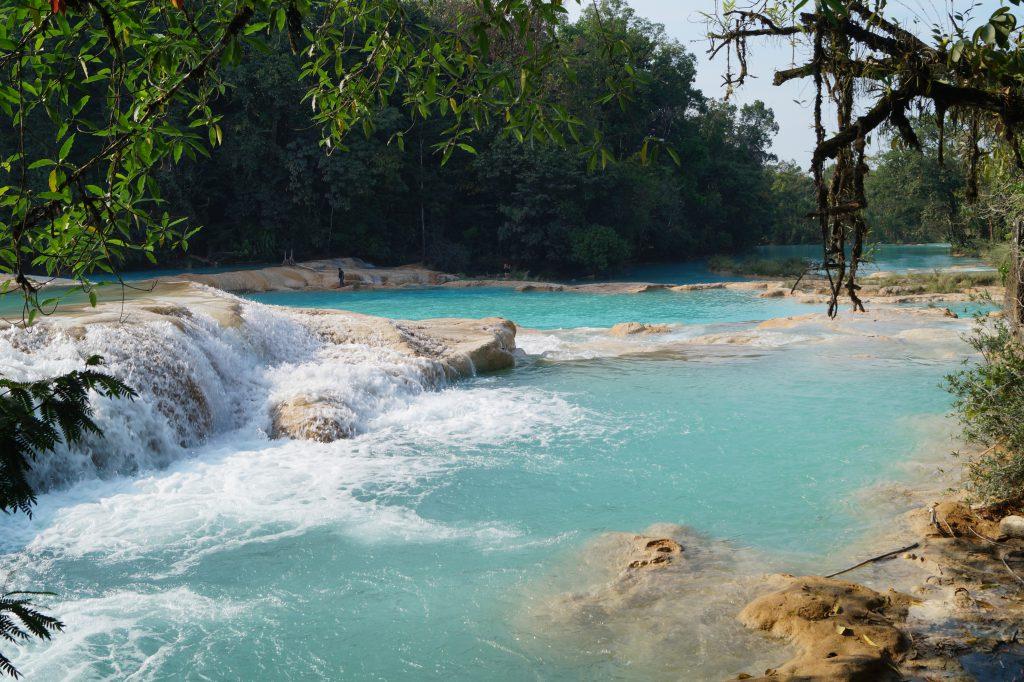 Cascada Agua Azul Mexico