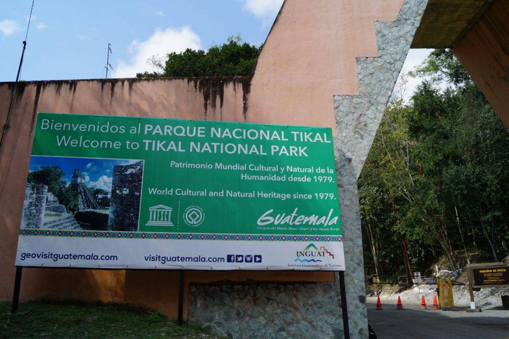Bine ati venit la Tikal.