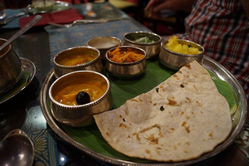 Mancare tipica indiana...foarte, foarte iute