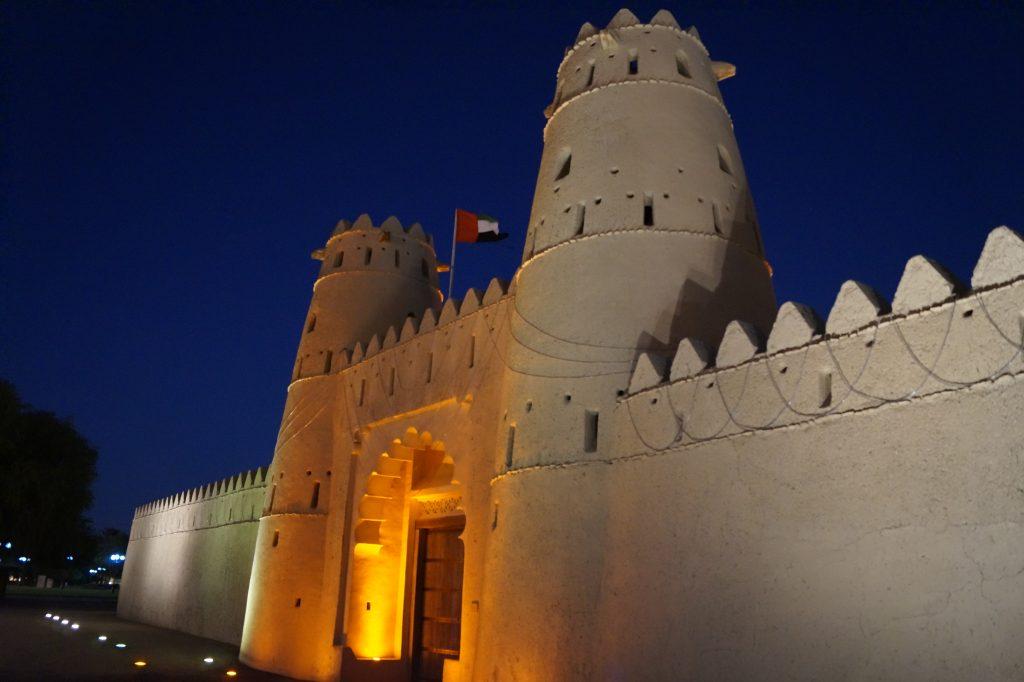 Noaptea pe strazile din Al Ain