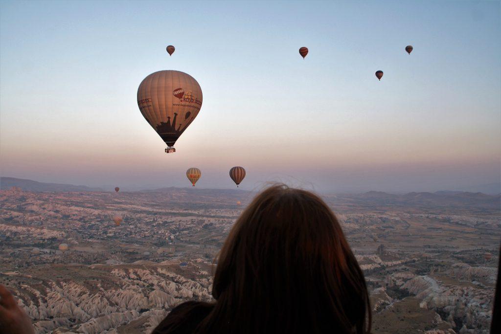 Zbor cu balonul peste Cappadochia
