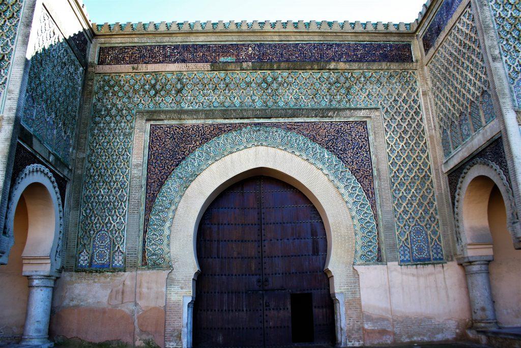 Meknes - Poarta de intrare in orasul vechi