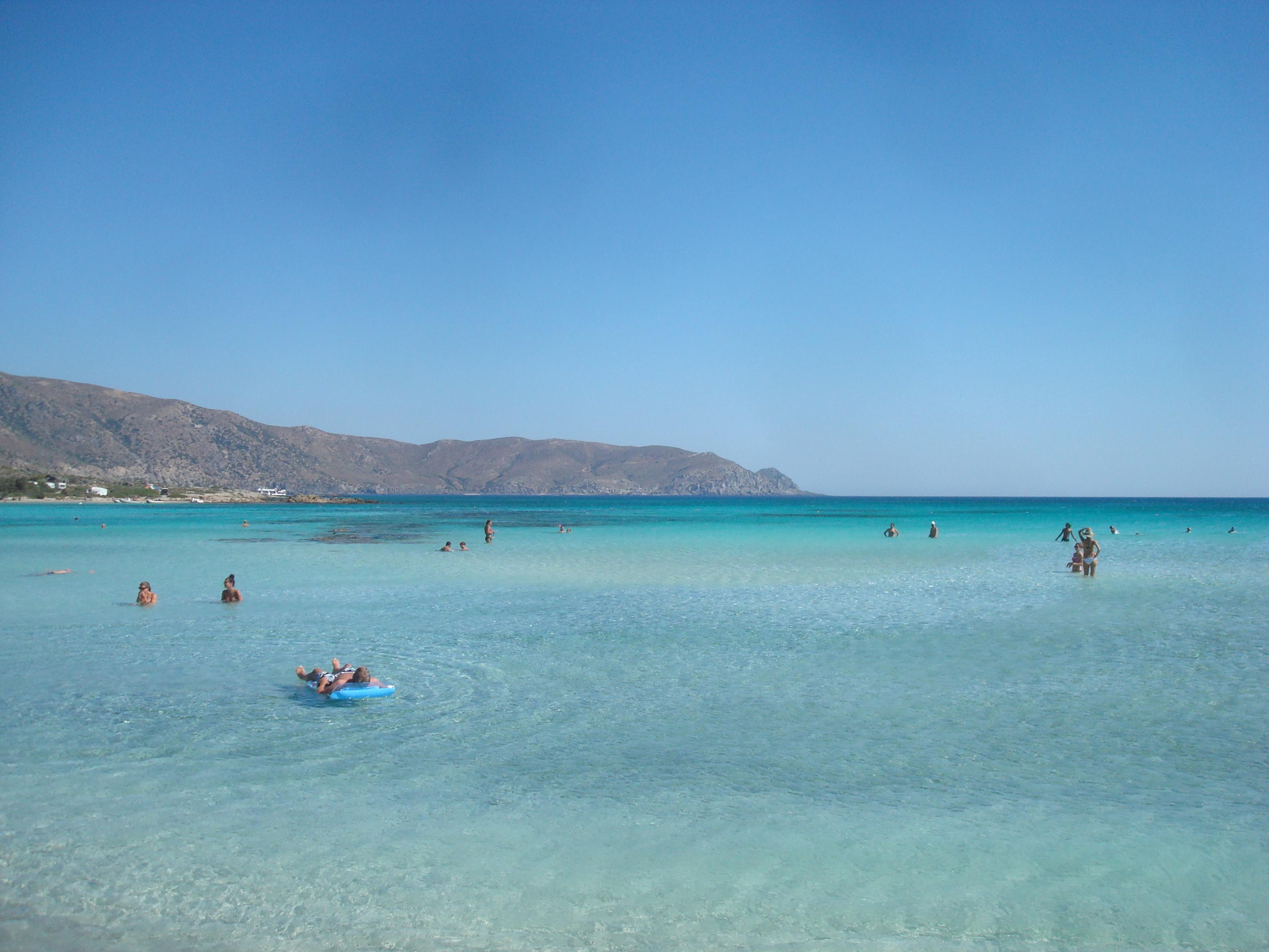 Creta plaja elafonisi