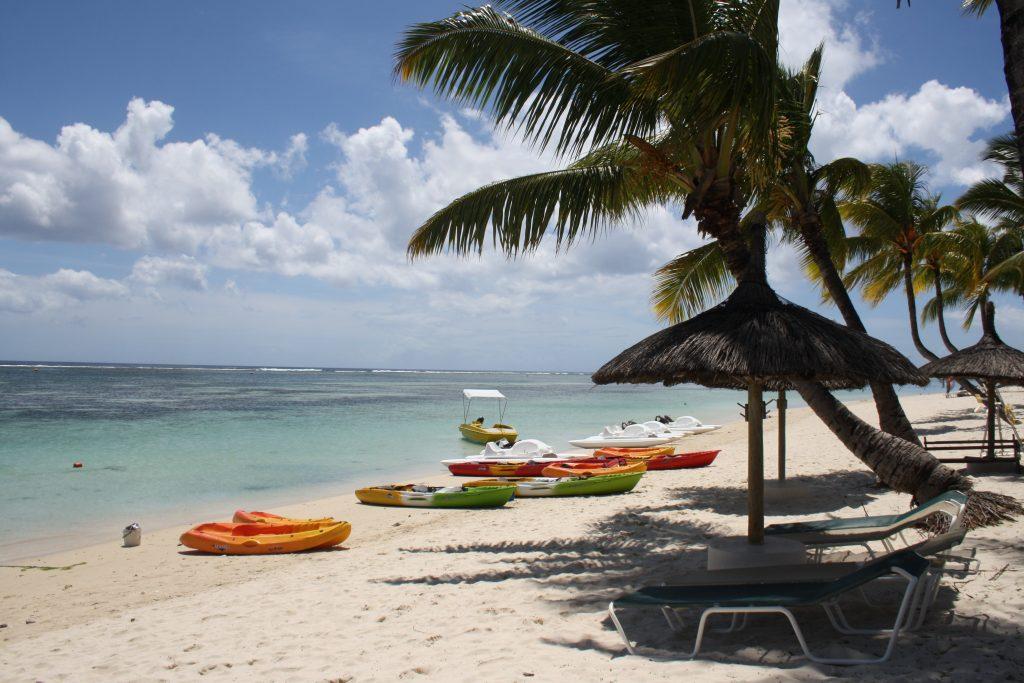 Mauritius- Plaja Flic-en-flac
