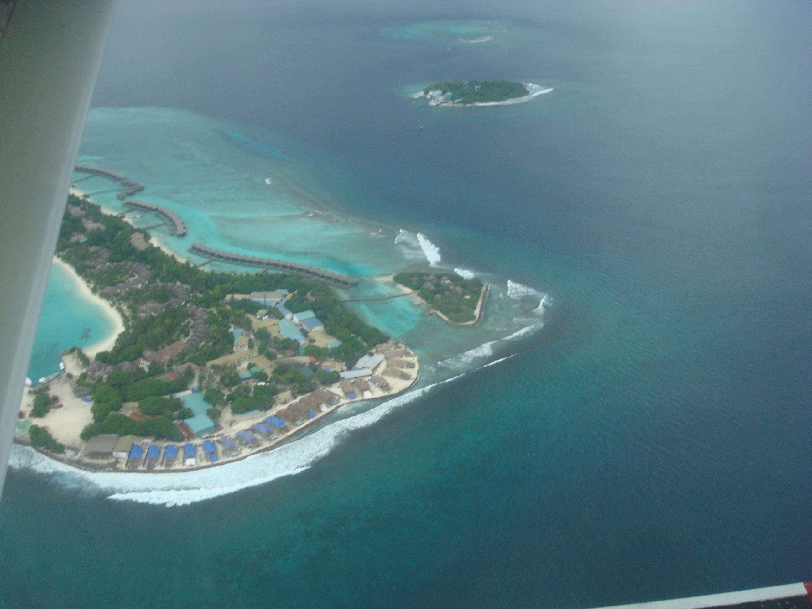 maldives von oben
